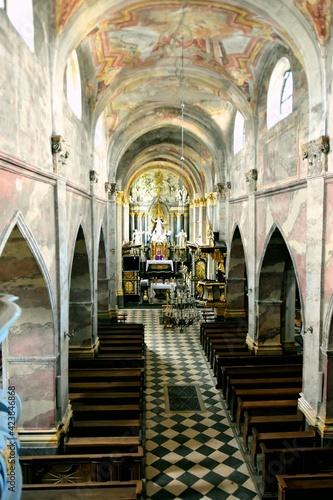 Fototapeta Archiopactwo Ojców Cystersów i Kościół Wincentego Kadłubka w Jędrzejowie, Klasztor,  obraz