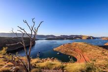 Scenic View Of Lake Argyle