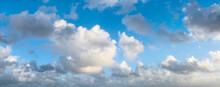 Soft Clouds On Blue Sky
