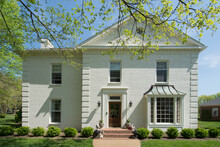 USA, Tennessee, White Brick House