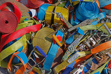 Safety Colorful Straps Pile