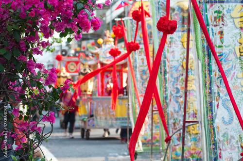 Foto Taiwan folk temple activity