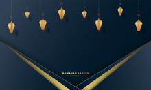 Ramadan Kareem Background Vector Illustration