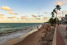 Praia De Ponta Verde, Maceió, Alagoas