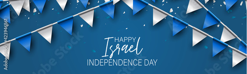 Photo Israel Independence Day banner or site header