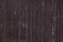 Old Painted Wooden Brown Background.