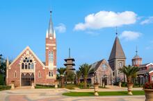 The Church Building On Haihua Island, Hainan, China