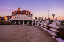 Huai Pla Kung Temple Is A Temple With Thai-Chinese Buildings.