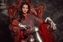 Magnificent Princess In Armour
