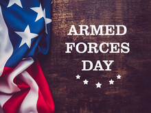 Armed Forces Day. Beautiful Greeting Card