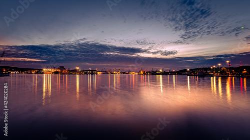 Fototapeta Gdynia - Port. obraz