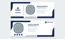 Corporate, Modern & Professional Email Signature. Visit Cards For Webmail User Interface. Business For Corporate Or Personal Webmail Vector Web Design Projects