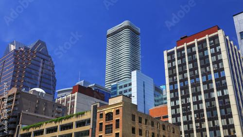 Fototapeta premium High rise buildings in downtown Toronto