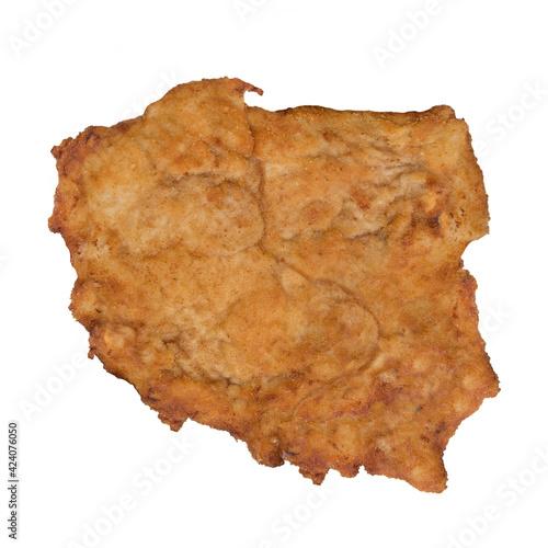 Polska mapa kotlet schabowy