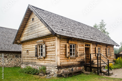 Russian Old Believers village in Latvia, Slutiski Fototapeta