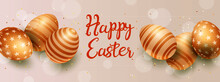 Easter Day Banners Template Illustration