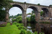 Viaduct Over River In Knaresborough