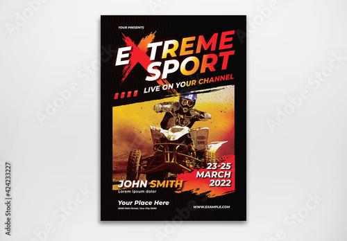 Fototapeta Extreme Sport Flyer obraz