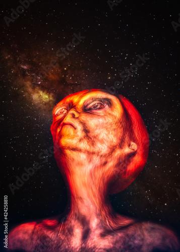 Foto Homesick on a strange planet