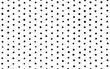 Black and white polka dots illustrated pattern background