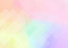 透明感のあるカラフルな抽象背景 No.04