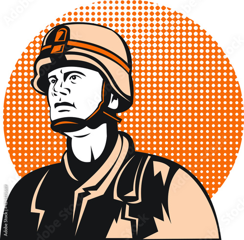 Obraz na plátně soldier fighters military man