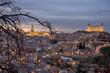 panoramica de la ciudad de Toledo, España