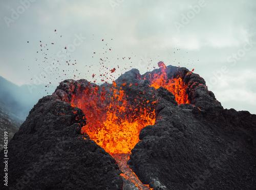 Foto Iceland Volcanic eruption 2021