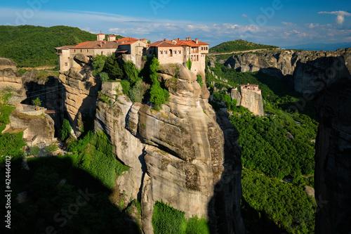 Fototapeta Monasteries of Meteora famous pilgrimage site in Greece