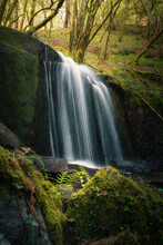 LIGHT IN THE WATERFALL