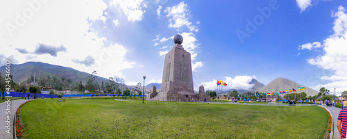 middle of the world monument | Ecuador