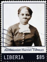 Abolitionist Harriet Tubman On Postage Stamp