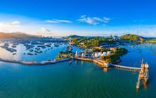 Zhapo National Center Fishing Port, Hailing Island, Yangjiang City, Guangdong Province, China