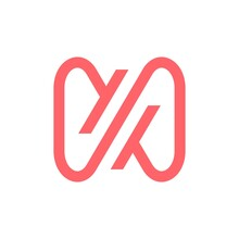 N Letter Infinity Mobius Loop Logo Vector Icon Illustration