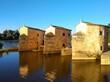 Acenas de Olivares water mills , Zamora city, Spain