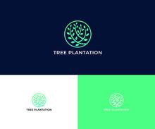 TREE PLANTATION LOGO