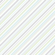 Stripe Pattern Seamless Pastel Multicolored Vector For Spring Summer In Blue, Green, Grey, White. Slim Thin Frequent Diagonal Lines For Dress, Skirt, Gift Paper, Other Modern Fashion Fabric Print.