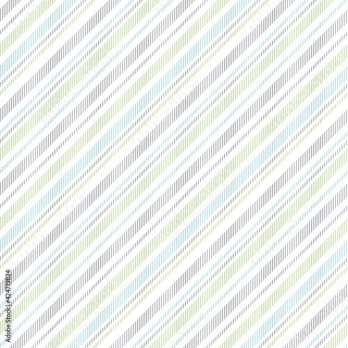 Obraz na płótnie Stripe pattern seamless pastel multicolored vector for spring summer in blue, green, grey, white