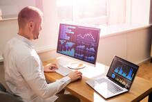 Business Dashboard Smart Marketing Data Banner