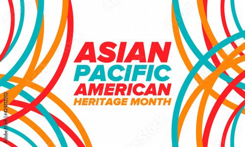 Fototapeta Asian Pacific American Heritage Month
