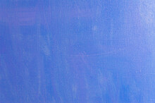 Creative Background, Celestial Color Primer On The Surface Of Linen Canvas, Temporary Object, Close, Toning