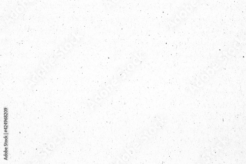 White paper or cardboard texture with black spot background. Fototapet