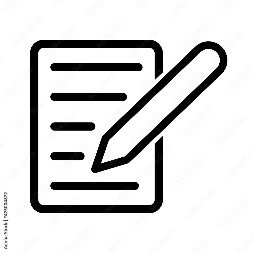 Fototapeta dokument ikona