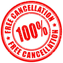 Rubber Stamp Free Cancellation