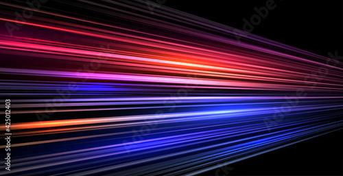speed trail lines motion background - fototapety na wymiar