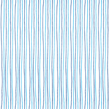 Vector Seamless Repeating Ornament Of Vertical Blue Lines On A White Background