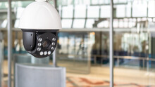 CCTV IP Camera Security System With Surveillance Monitoring, Digital Video Recording Technology For Safety Installing In Home, Office Workplace, And Public Building
