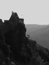 12th-century Aggstein Castle Ruins Atop A Rocky Outcrop