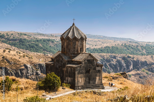 Fotografie, Obraz Armenia, Church of the 11th century Vahramashen near the fortress Amberd