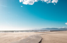 California Beach Bike Path